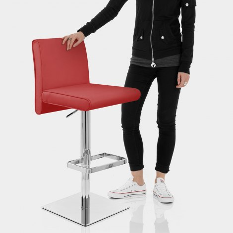 Siena Bar Stool Red Features Image