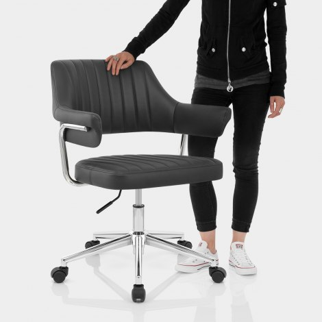 Skyline Office Chair Black Features Image