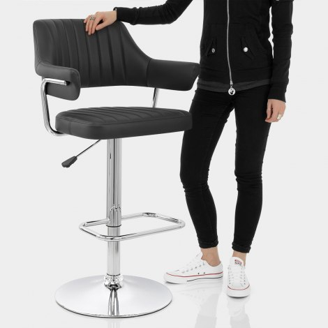 Skyline Bar Chair Black Features Image
