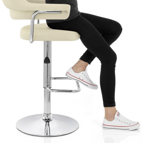 Skyline Bar Chair Cream Seat Image