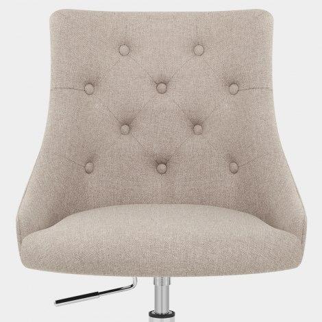 Sofia Office Chair Tweed Fabric Seat Image