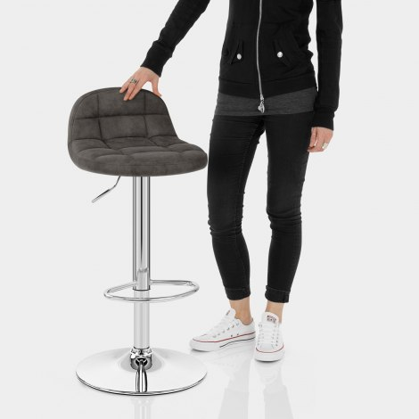 Spark Bar Stool Charcoal Features Image