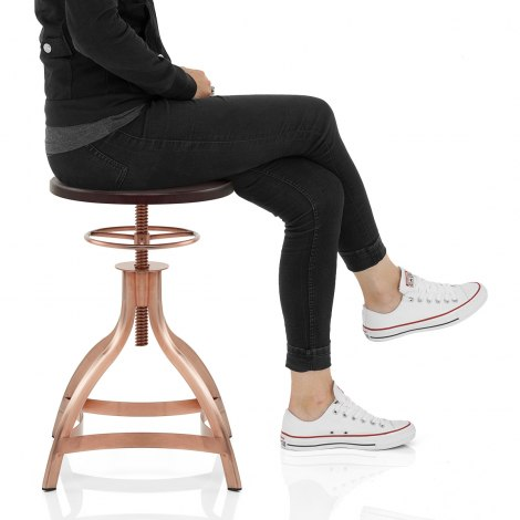 Spark Copper Stool Seat Image