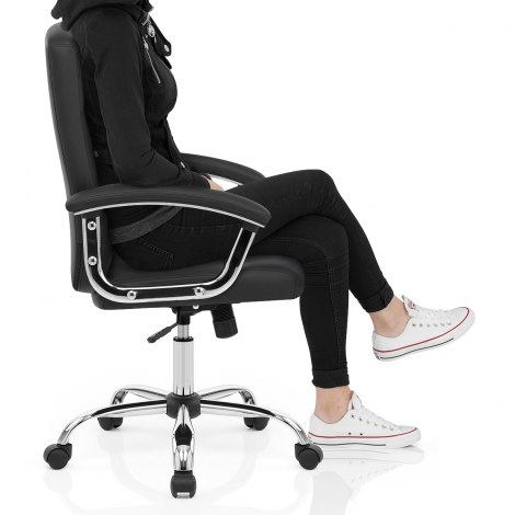 Stanford Office Chair Black Seat Image