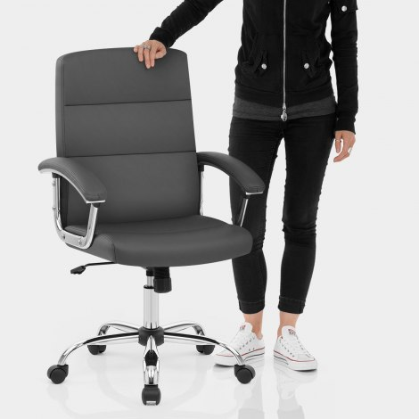 Stanford Office Chair Grey Features Image