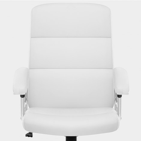 Stanford Office Chair White Seat Image
