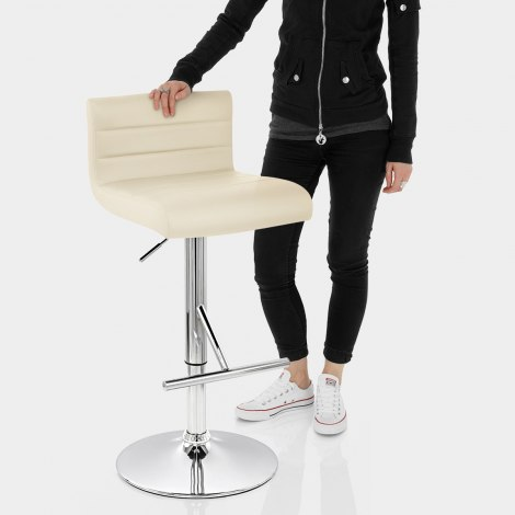 Style Bar Stool Cream Features Image