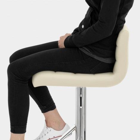 Style Bar Stool Cream Seat Image