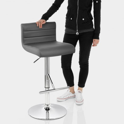 Style Bar Stool Grey Features Image
