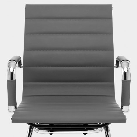 Task Office Chair Grey Seat Image