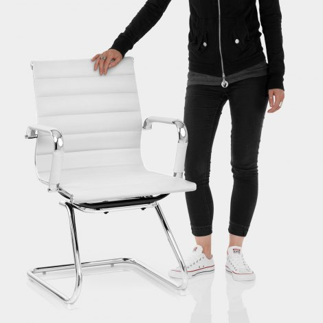 Task Office Chair White Features Image