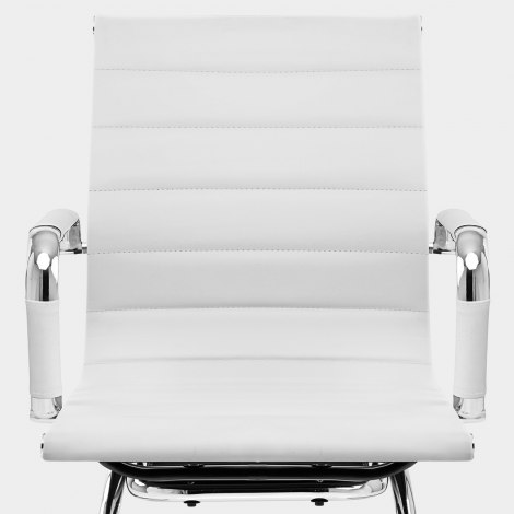 Task Office Chair White Seat Image