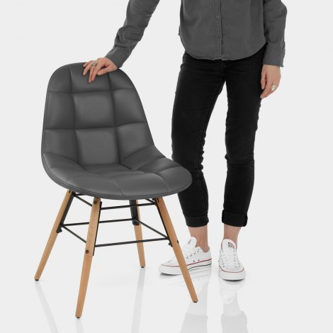 Tate Chair Grey Features Image
