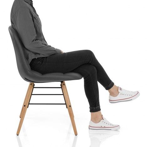 Tate Chair Grey Seat Image