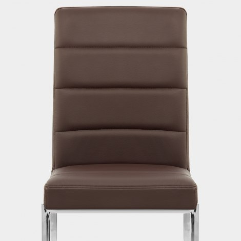 Taurus Dining Chair Brown Seat Image
