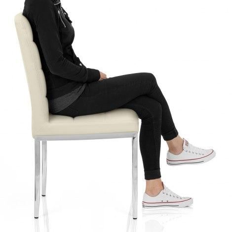 Taurus Dining Chair Cream Frame Image