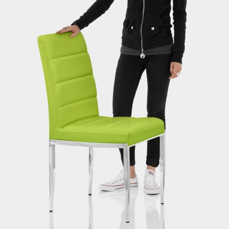 Taurus Dining Chair Green Features Image