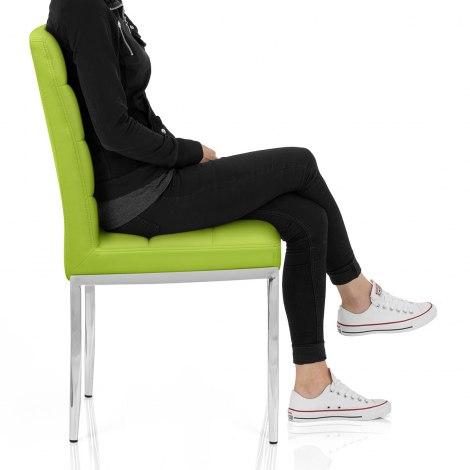 Taurus Dining Chair Green Frame Image