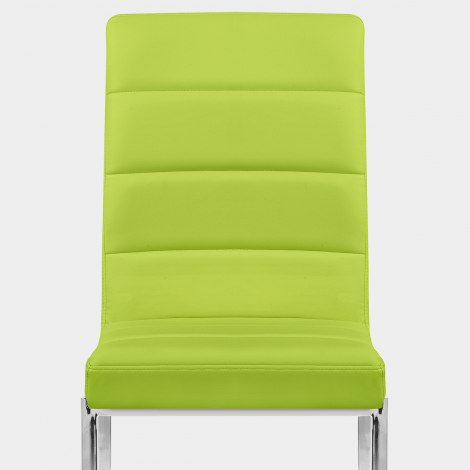 Taurus Dining Chair Green Seat Image
