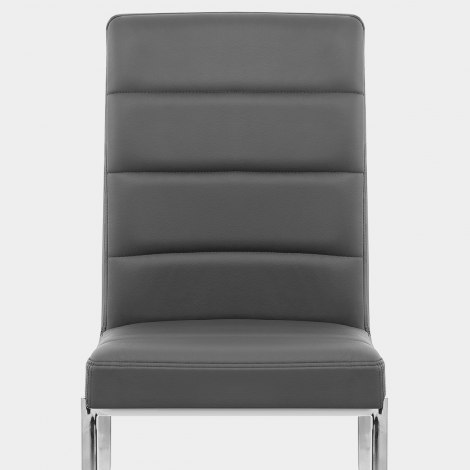 Taurus Dining Chair Grey Seat Image