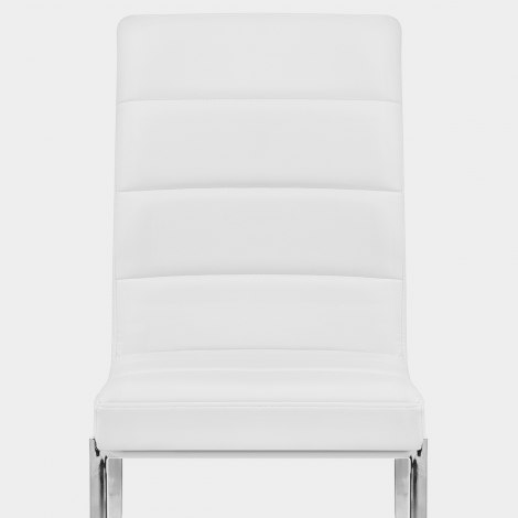Taurus Dining Chair White Seat Image