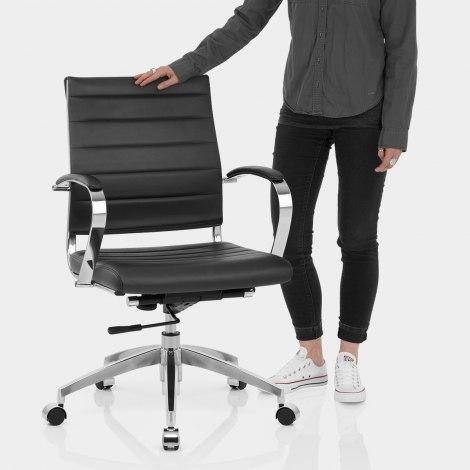 Tek Office Chair Black Features Image