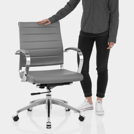 Tek Office Chair Grey Features Image