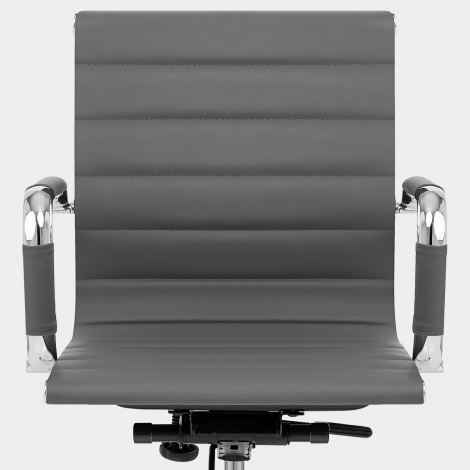 Tek Office Chair Grey Seat Image