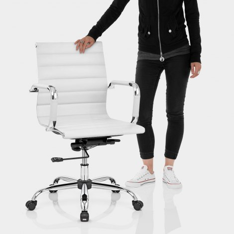 Tek Office Chair White Features Image
