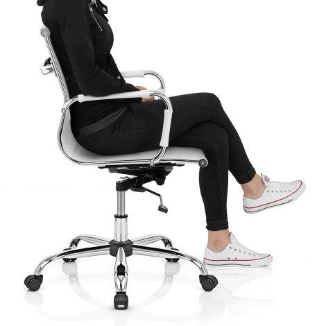 Tek Office Chair White Frame Image