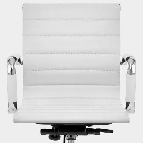 Tek Office Chair White Seat Image