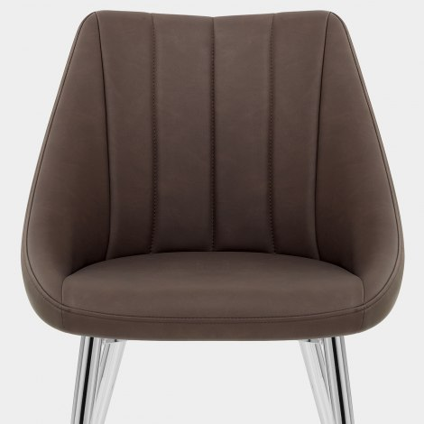 Tempo Dining Chair Brown Seat Image