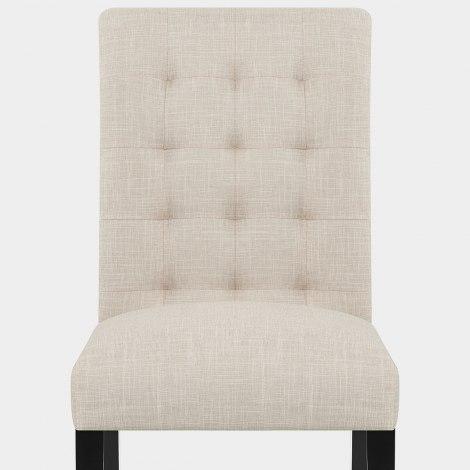 Thornton Dining Chair Cream Fabric Seat Image