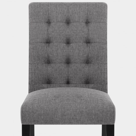 Thornton Dining Chair Charcoal Fabric Seat Image