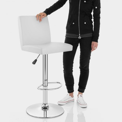 Topaz Bar Stool White Features Image