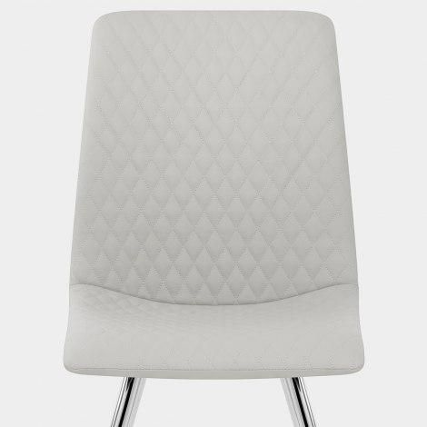 Trevi Dining Chair Light Grey Seat Image