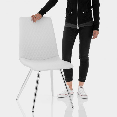 Trevi Dining Chair White Features Image