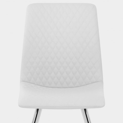 Trevi Dining Chair White Seat Image