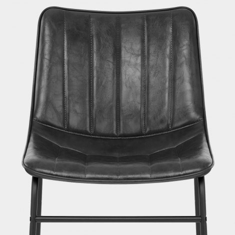 Tucker Chair Antique Black Seat Image
