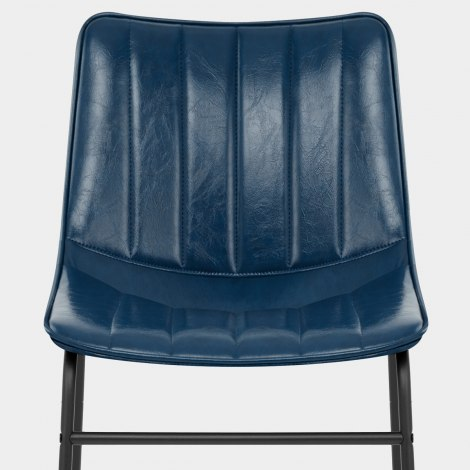 Tucker Chair Antique Blue Seat Image