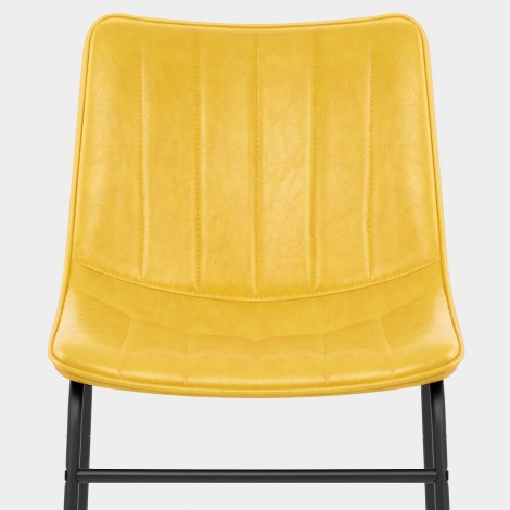 Tucker Chair Antique Yellow Seat Image