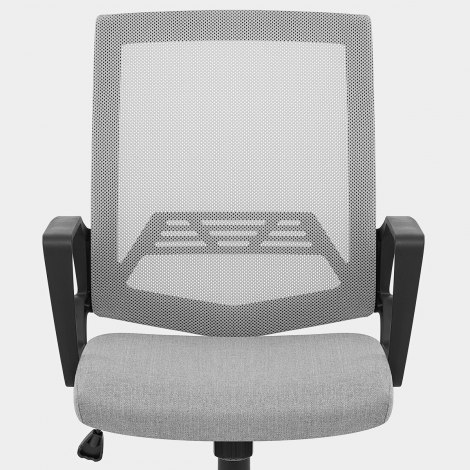 Tuscan Mesh Office Chair Grey Seat Image