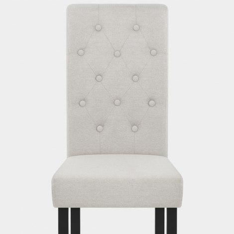 Utah Dining Chair Pebble Fabric Seat Image