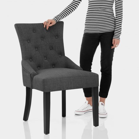 Verdi Chair Grey Features Image