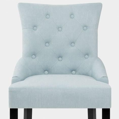 Verdi Dining Chair Duck Egg Blue Seat Image