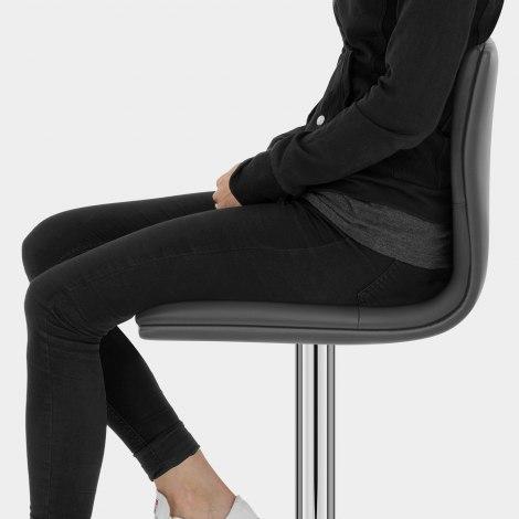 Verona Bar Stool Grey Seat Image