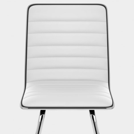 Vesta Dining Chair White Seat Image
