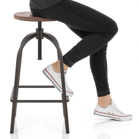 Vice Industrial Stool Seat Image
