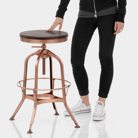Volt Toledo Style Copper Stool Features Image