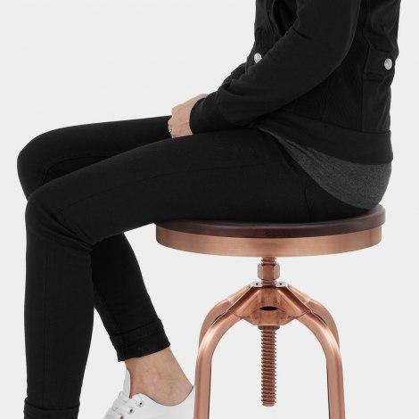 Volt Toledo Style Copper Stool Seat Image